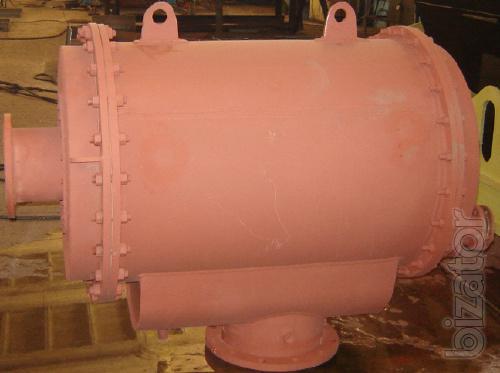 Gas cooler end SC-63, SC-125,288-29 SB