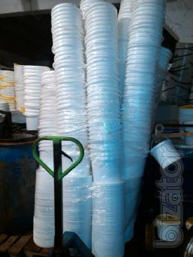 Sell plastic bucket 10l. B. W. Price 15 USD.