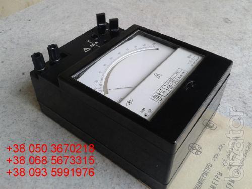 Sell warehouse ammeters laboratory E (e-537, 537 e) 0.5-1A