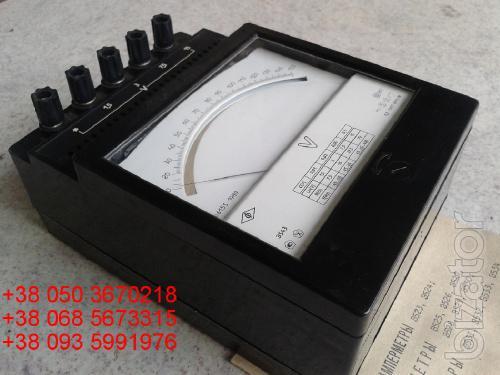 Sell warehouse voltmeters laboratory E (e-543, e 543) 1.5 to 15V