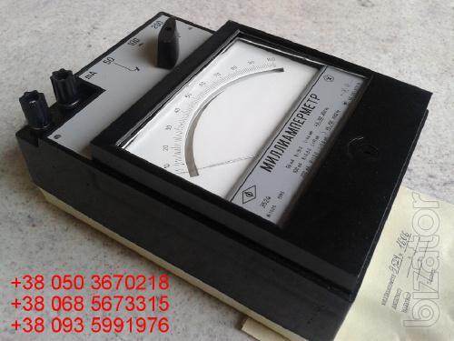 Sell warehouse ammeters laboratory E (e-524, 524 E.) 50-200mA