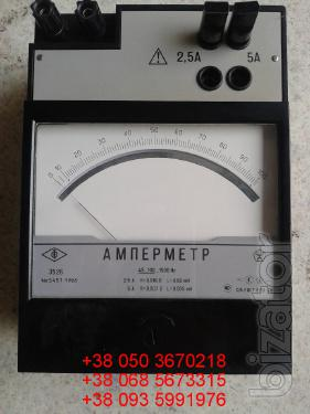 Sell warehouse ammeters laboratory E (e-526, 526 e) 2,5-5A