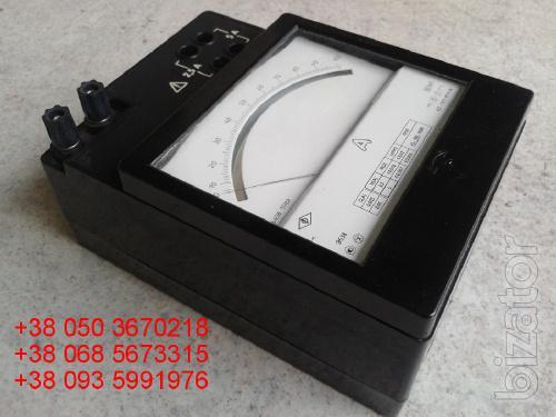 Sell warehouse ammeters laboratory E (e-538, 538 e) 2,5-5A