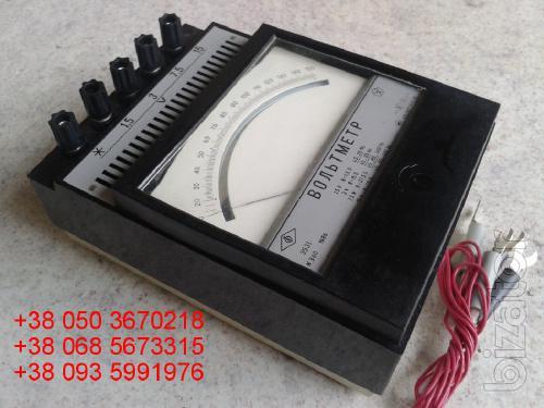 Sell warehouse voltmeters laboratory E (e-531, 531 e) 1.5 to 15V