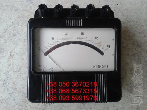 Sell warehouse voltmeter M45MOM3 (M-MOM, M OM) 3-15-150-300V