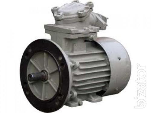 The explosion-proof motor АИМ90L6У2 1.5 x 1000 rpm