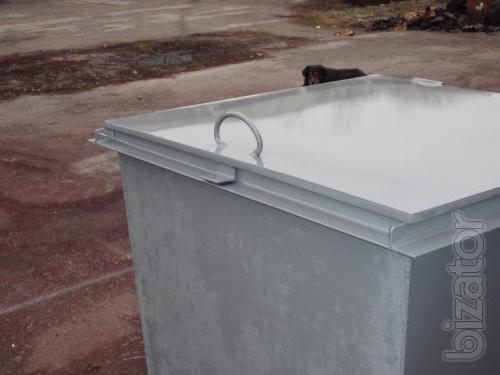 Sell, produce bins (containers)