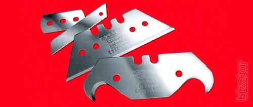 Industrial blades, safe knives