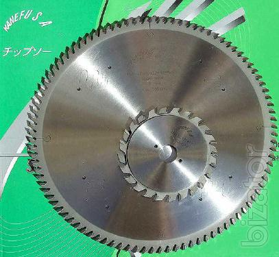 Circular saws for sawing machines Kanefusa Board Pro Plus (Japan)