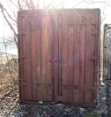 Sell a container in Ternopil 5 feet, 10 feet, 20 feet