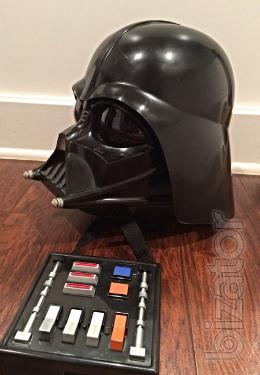 Helmet of Darth Vader with modulation of voice
