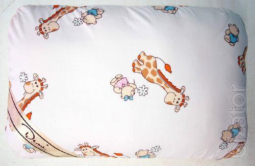 pillow Winter-Summer collection Demi giraffe