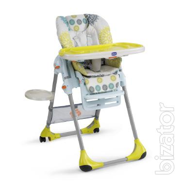 Highchair Chicco Polly 2 In 1 B/y