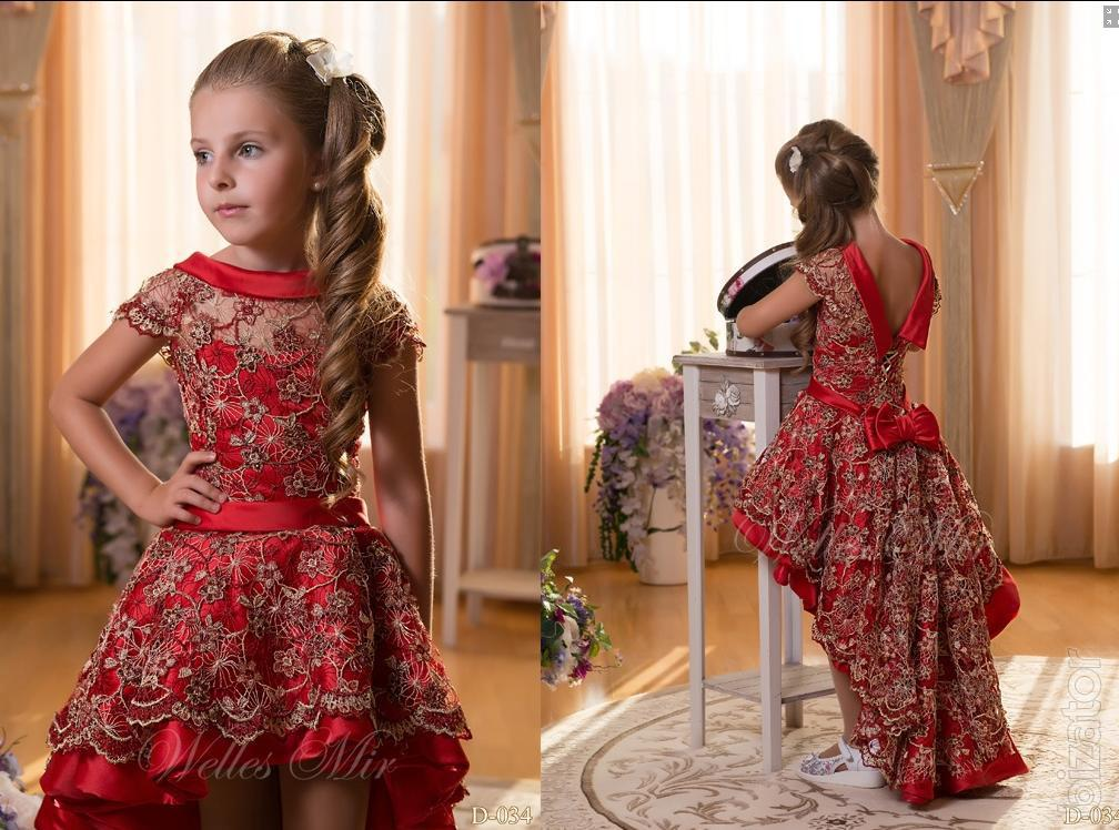 Фото платья на выпускной в детском саду