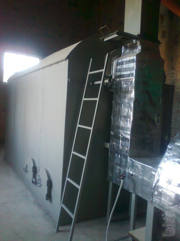 Sawdust Flash Dryer