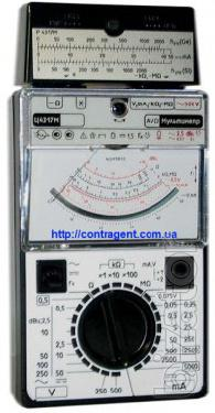 Multimeters (testers) analogue (pointer), Electrical C4317M multifunctional device (TS-4317-M, C 4317 M, C4317-M)