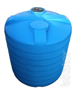 Capacity 8000 litres plastic