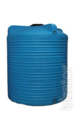 Capacity 5000 liters plastic