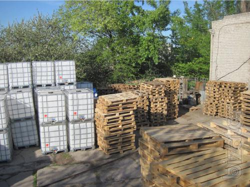 We buy pallets and Euro pallets (pallets)