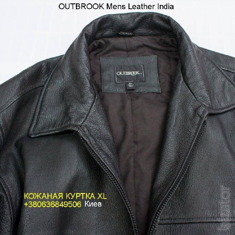 1e6f1a7df Leather jacket XL Mens OutBrook Leather India