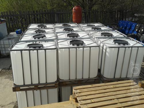 Sell IBC container 1000L. The pallet containers.