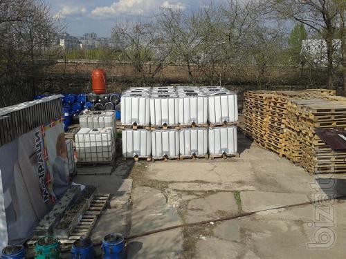 Eurocup ( IBC ) 1000 l, pallets, barrels. Eurotra-Kharkov.