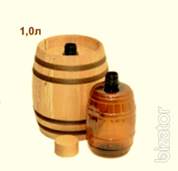 Gift barrels and kitchenware of wood