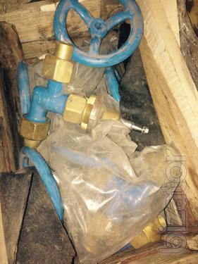 The valve straight COP-7141, Valve corner COP - 7142 Kharkov