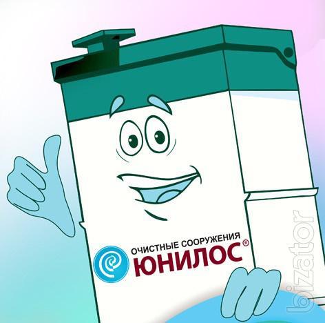 Sewerage Yunilos, water purification up to 98 percent