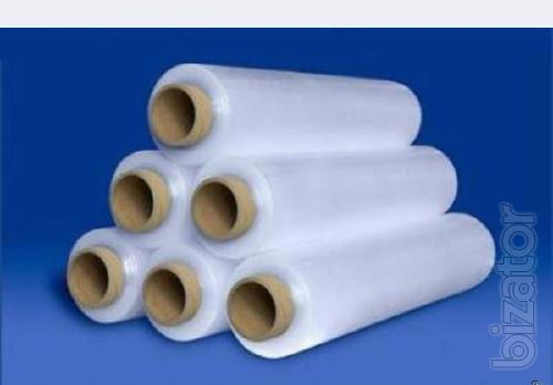 Stretch pallet, non-food packaging film