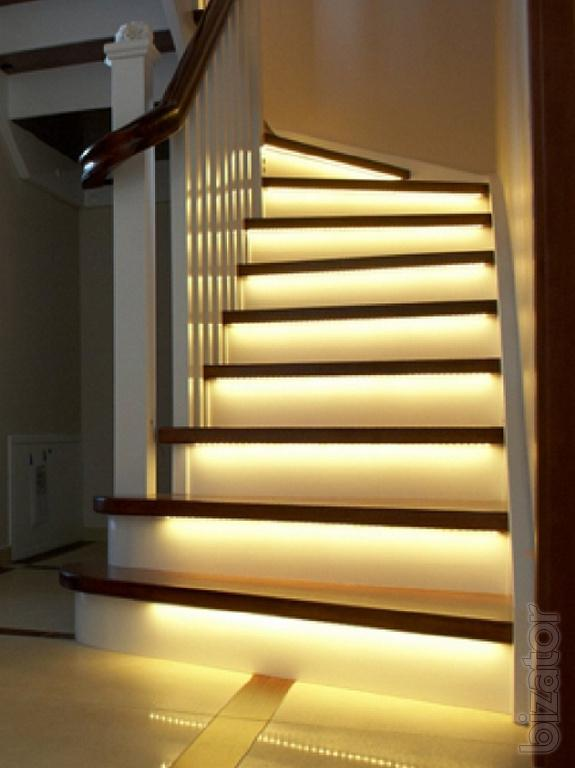 Lighting Basement Washroom Stairs: Automatic Stair Lighting LED Ukraine