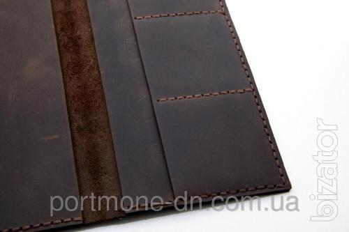 """Wallet leather handmade coin purse """"Vintage"""""""