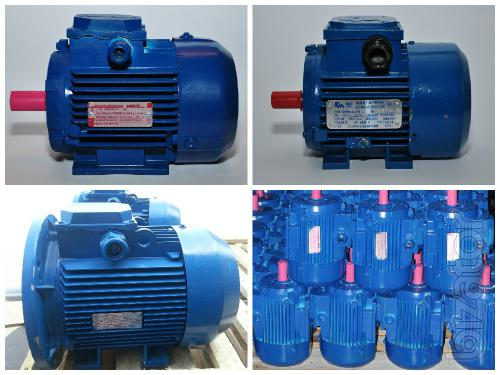 Motors from 0.12 kW to 315 kW for General and special purposes!