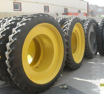 Narrow tires for inter-row cultivation for tractors theriot , KAMAZ