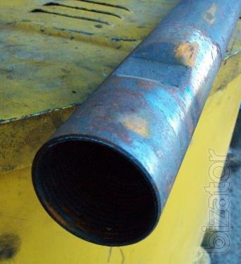 Sell non-welded drill rods inarticulate type, with hardened conical threads