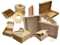Corrugated boxes, cardboard boxes from a warehouse and under the order