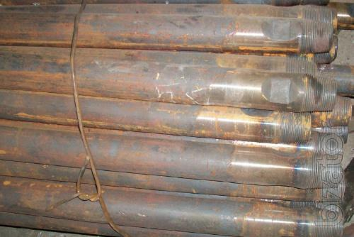 Seamless pipe 63,5x5, 45 steel and drill rod from the pipe