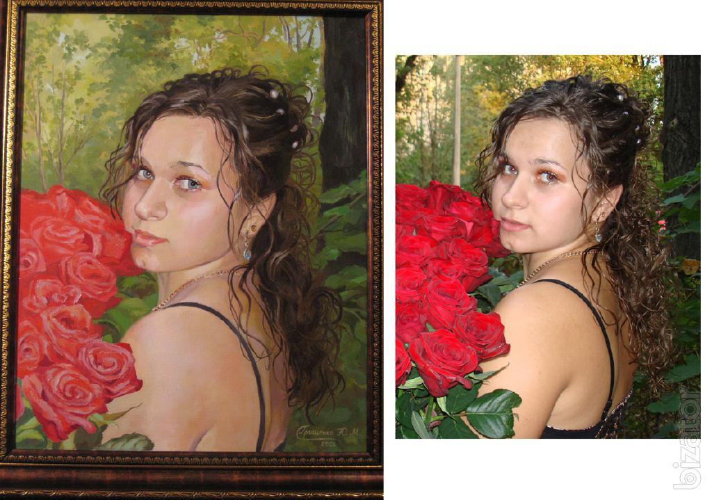 Фото сделать как картину онлайн бесплатно