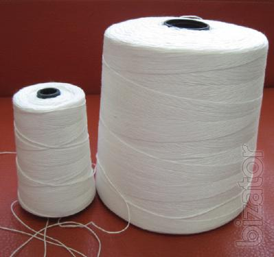 Thread for sewing bags