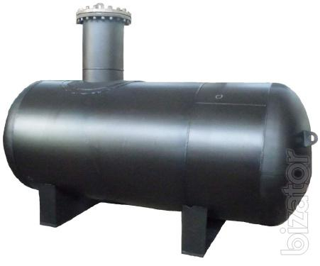 The capacity of the gas (the gas tank), a volume of 4.2 cubic meters for propane-butane