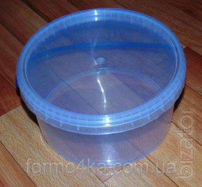 The 3 liter food bucket with hermetic lid