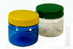 Bank PET (plastic) 100 ml for spices