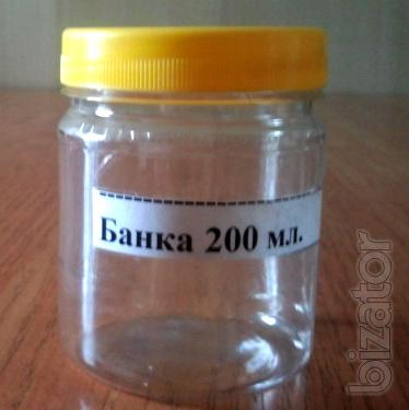 Plastic jar 250 ml.