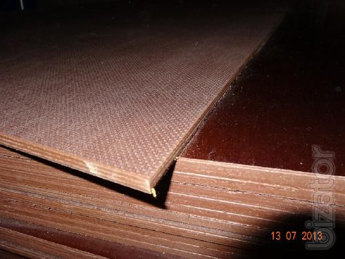 Transport laminated plywood for the floor covering, mesh/smooth h mm