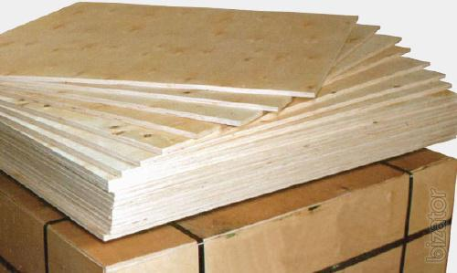 Water-resistant birch plywood under the flooring h mm