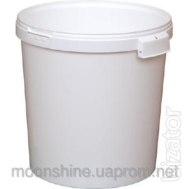 the food bucket with lid 10, 20, 33 liters
