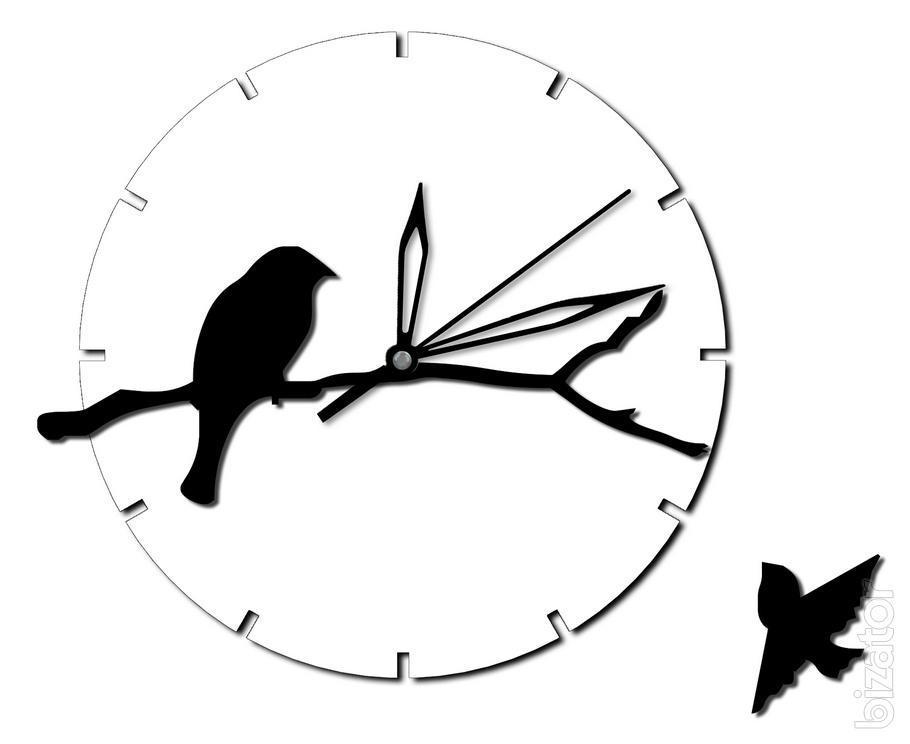 """Wall Clock """"Birds"""""""