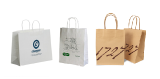 """Production of high quality paper bags with logo in """"Production Package""""."""