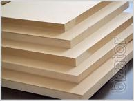 MDF 2800 x 2070 mm for interior, office partitions