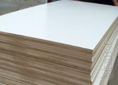 Laminated MDF 10 mm, 16 mm, 19 mm for kitchen fronts.